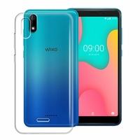 """Wiko Y60 5.45"""" [Les Dimensions EXACTES du telephone: 146.8 x 71.8 x 9.3 mm]: Accessoire Housse Etui Coque gel UltraSlim et Ajustement parfait - TRANSPARENT"""