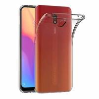 """Xiaomi Redmi 8A 6.2"""" [Les Dimensions EXACTES du telephone: 156.5 x 75.4 x 9.4 mm]: Accessoire Housse Etui Coque gel UltraSlim et Ajustement parfait - TRANSPARENT"""