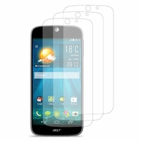 Acer Liquid Jade S S56: Lot / Pack de 3x Films de protection d'écran clear transparent