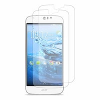 Acer Liquid Jade Z S57: Lot / Pack de 2x Films de protection d'écran clear transparent
