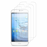 Acer Liquid Jade Z S57: Lot / Pack de 3x Films de protection d'écran clear transparent