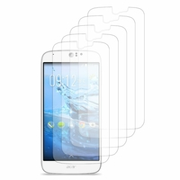 Acer Liquid Jade Z S57: Lot / Pack de 5x Films de protection d'écran clear transparent