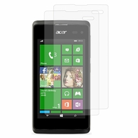 Acer Liquid M220/ Liquid Z220: Lot / Pack de 2x Films de protection d'écran clear transparent