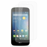 Acer Liquid Z320/ Z330: Lot / Pack de 2x Films de protection d'écran clear transparent