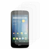 Acer Liquid Z320/ Z330: Lot / Pack de 3x Films de protection d'écran clear transparent