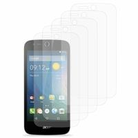 Acer Liquid Z320/ Z330: Lot / Pack de 5x Films de protection d'écran clear transparent