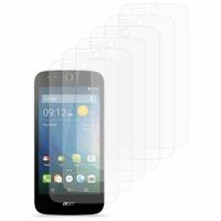 Acer Liquid Z320/ Z330: Lot / Pack de 6x Films de protection d'écran clear transparent