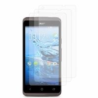 Acer Liquid Z410: Lot / Pack de 3x Films de protection d'écran clear transparent