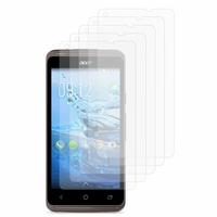 Acer Liquid Z410: Lot / Pack de 5x Films de protection d'écran clear transparent