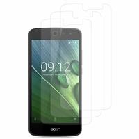 """Acer Liquid Zest Z525/ Zest 4G Z528 5.0"""": Lot / Pack de 3x Films de protection d'écran clear transparent"""