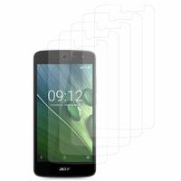 """Acer Liquid Zest Z525/ Zest 4G Z528 5.0"""": Lot / Pack de 5x Films de protection d'écran clear transparent"""