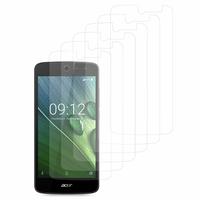 """Acer Liquid Zest Z525/ Zest 4G Z528 5.0"""": Lot / Pack de 6x Films de protection d'écran clear transparent"""