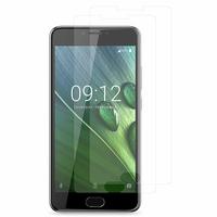 """Acer Liquid Z6 Plus 5.5"""" (non compatible Liquid Z6 5.0""""): Lot / Pack de 2x Films de protection d'écran clear transparent"""