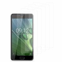 """Acer Liquid Z6 Plus 5.5"""" (non compatible Liquid Z6 5.0""""): Lot / Pack de 5x Films de protection d'écran clear transparent"""
