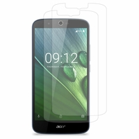 Acer Liquid Zest Plus Z628: Lot / Pack de 2x Films de protection d'écran clear transparent