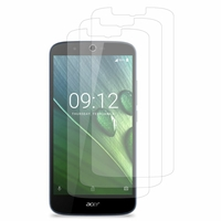 Acer Liquid Zest Plus Z628: Lot / Pack de 3x Films de protection d'écran clear transparent