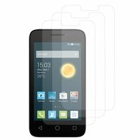 """Alcatel Pixi 3 (4) 4.0"""": Lot / Pack de 3x Films de protection d'écran clear transparent"""