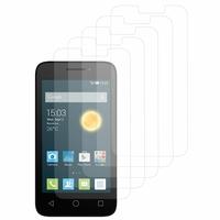 """Alcatel Pixi 3 (4) 4.0"""": Lot / Pack de 5x Films de protection d'écran clear transparent"""