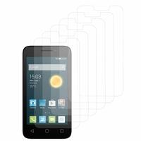 """Alcatel Pixi 3 (4) 4.0"""": Lot / Pack de 6x Films de protection d'écran clear transparent"""