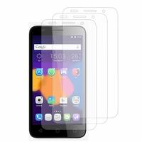 Alcatel Pixi 3 (4.5): Lot / Pack de 3x Films de protection d'écran clear transparent