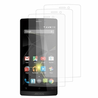 Archos 50 Diamond: Lot / Pack de 3x Films de protection d'écran clear transparent