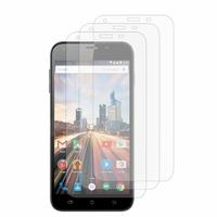 Archos 55 Helium+/ 55 Helium Plus 4G: Lot / Pack de 3x Films de protection d'écran clear transparent