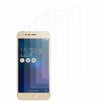 """Asus Zenfone 3 Max ZC520TL 5.2"""": Lot / Pack de 6x Films de protection d'écran clear transparent"""