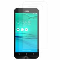 """Asus Zenfone Go ZB500KL 5.0"""": Lot / Pack de 2x Films de protection d'écran clear transparent"""