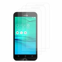 """Asus Zenfone Go ZB500KL 5.0"""": Lot / Pack de 3x Films de protection d'écran clear transparent"""