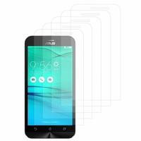 """Asus Zenfone Go ZB500KL 5.0"""": Lot / Pack de 5x Films de protection d'écran clear transparent"""