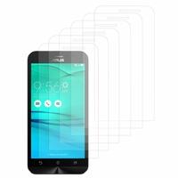 """Asus Zenfone Go ZB500KL 5.0"""": Lot / Pack de 6x Films de protection d'écran clear transparent"""