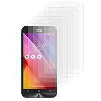 Asus Zenfone 2 Laser ZE500KG/ ZE500KL: Lot / Pack de 5x Films de protection d'écran clear transparent