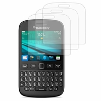 BlackBerry 9720/ 9720 Samoa: Lot / Pack de 3x Films de protection d'écran clear transparent
