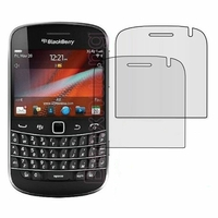 BlackBerry Bold Touch 9900/ Dakota/ Magnum/ Bold Touch 9930/ Montana: Lot / Pack de 2x Films de protection d'écran clear transparent
