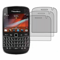 BlackBerry Bold Touch 9900/ Dakota/ Magnum/ Bold Touch 9930/ Montana: Lot / Pack de 3x Films de protection d'écran clear transparent