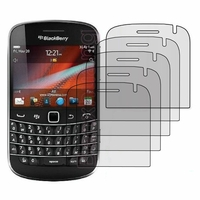 BlackBerry Bold Touch 9900/ Dakota/ Magnum/ Bold Touch 9930/ Montana: Lot / Pack de 5x Films de protection d'écran clear transparent