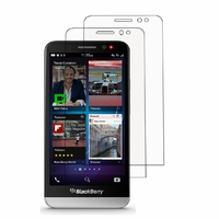 Blackberry Z30: Lot / Pack de 2x Films de protection d'écran clear transparent