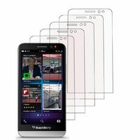 Blackberry Z30: Lot / Pack de 5x Films de protection d'écran clear transparent