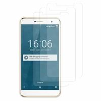 """DOOGEE F7 4G LTE 5.5"""" (non compatible Doogee F7 Pro 5.7""""): Lot / Pack de 3x Films de protection d'écran clear transparent"""