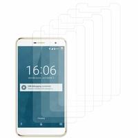 """DOOGEE F7 4G LTE 5.5"""" (non compatible Doogee F7 Pro 5.7""""): Lot / Pack de 6x Films de protection d'écran clear transparent"""