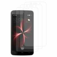 "DOOGEE HomTom HT17/ HT17 Pro 5.5"": Lot / Pack de 3x Films de protection d'écran clear transparent"