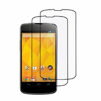 Google Nexus 4 E960/ Mako: Lot / Pack de 2x Films de protection d'écran clear transparent