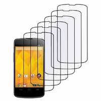 Google Nexus 4 E960/ Mako: Lot / Pack de 6x Films de protection d'écran clear transparent