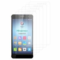 HISENSE C20 5.0''/ KING KONG II C20/ Infinium KO C20: Lot / Pack de 5x Films de protection d'écran clear transparent