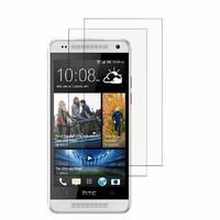 HTC One Mini M4/ 601/ 601e/ 601n/ 601s: Lot / Pack de 2x Films de protection d'écran clear transparent