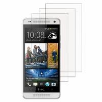 HTC One Mini M4/ 601/ 601e/ 601n/ 601s: Lot / Pack de 3x Films de protection d'écran clear transparent