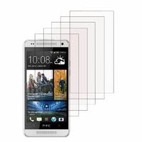 HTC One Mini M4/ 601/ 601e/ 601n/ 601s: Lot / Pack de 5x Films de protection d'écran clear transparent