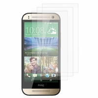 HTC One mini 2/ M8 Mini: Lot / Pack de 3x Films de protection d'écran clear transparent