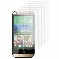 HTC One mini 2/ M8 Mini: Lot / Pack de 5x Films de protection d'écran clear transparent