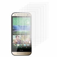 HTC One mini 2/ M8 Mini: Lot / Pack de 6x Films de protection d'écran clear transparent